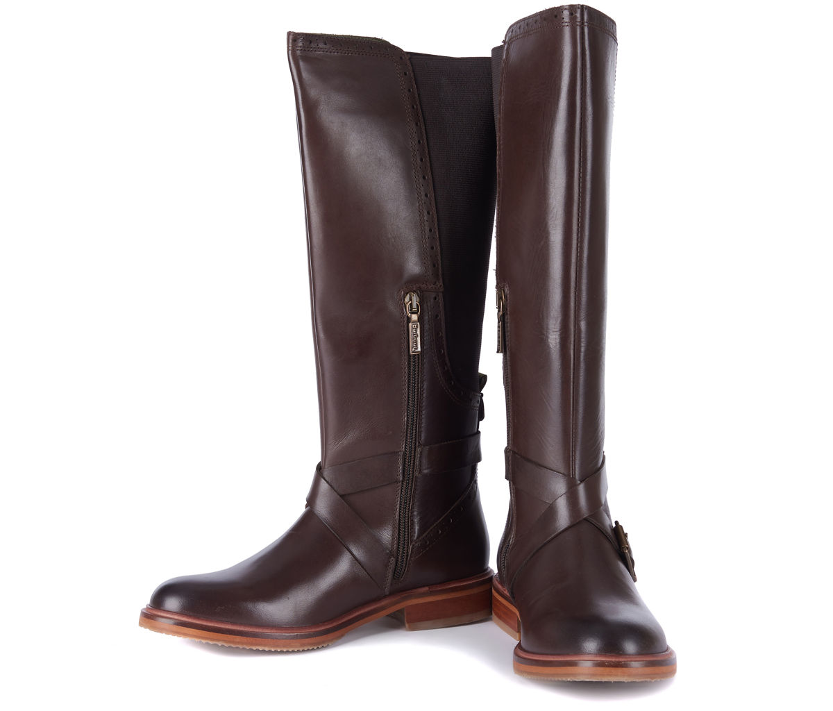 Barbour® Mary Tall Riding Boots - BROWNimage number 0