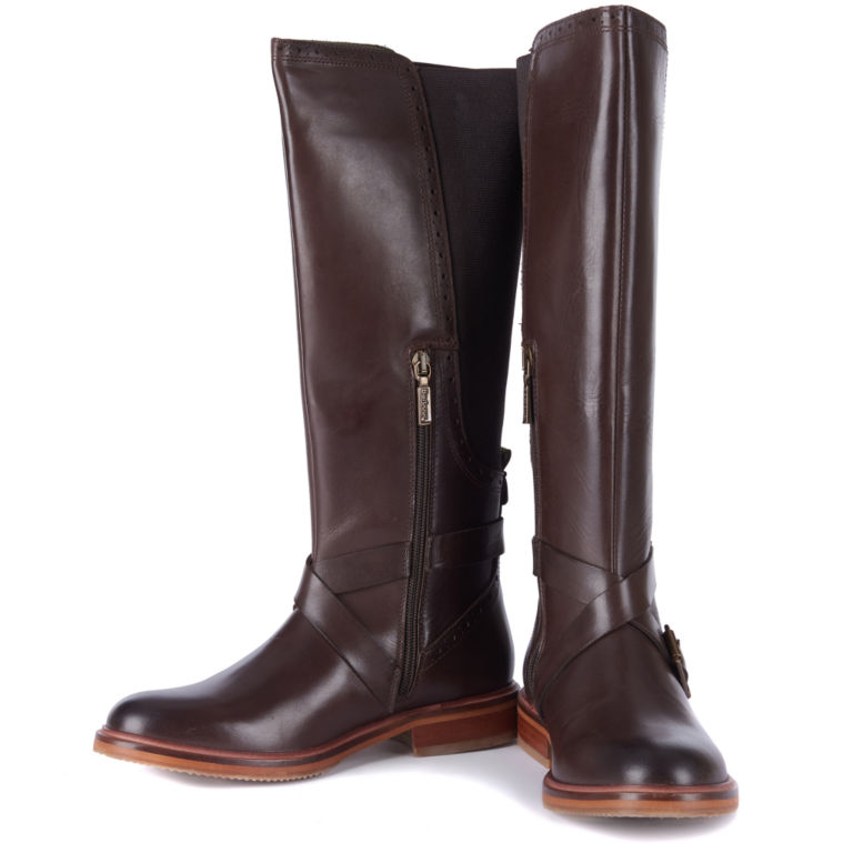 Barbour® Mary Tall Riding Boots - BROWN image number 0