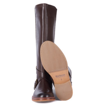 Barbour® Mary Tall Riding Boots - BROWN image number 4
