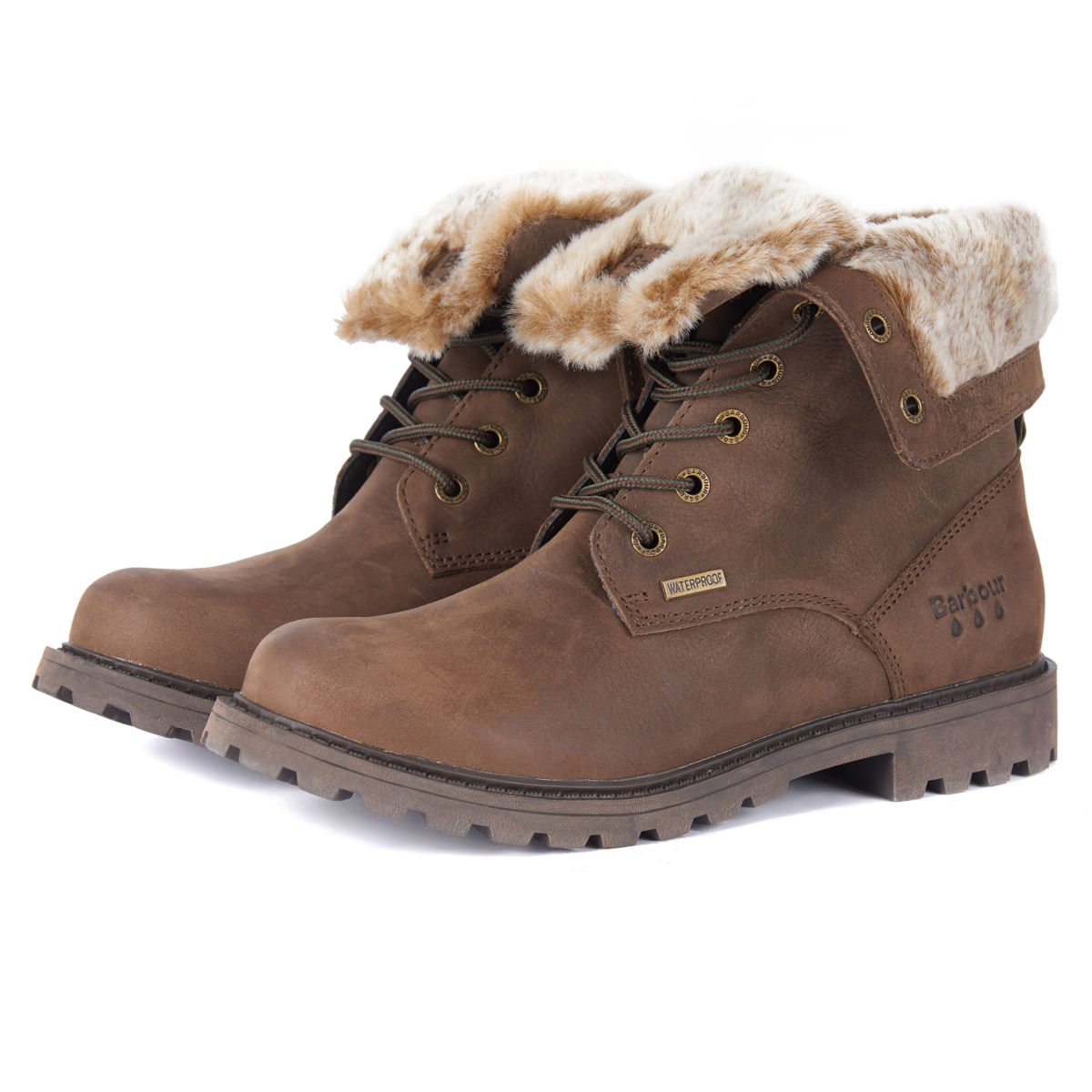 Barbour® Hamsterley Lined Boots - BROWNimage number 0