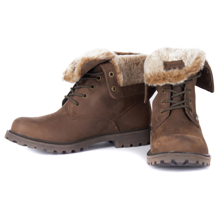 Barbour® Hamsterley Lined Boots - BROWN image number 4