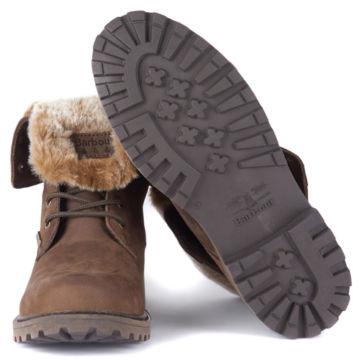 Barbour® Hamsterley Lined Boots - BROWN image number 3