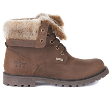 Barbour® Hamsterley Lined Boots - BROWN image number 1