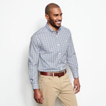 Pinpoint Wrinkle-Free Comfort Stretch Long-Sleeved Shirt - Regular -  image number 2