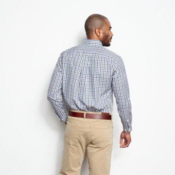Pinpoint Wrinkle-Free Comfort Stretch Long-Sleeved Shirt - Regular -  image number 3