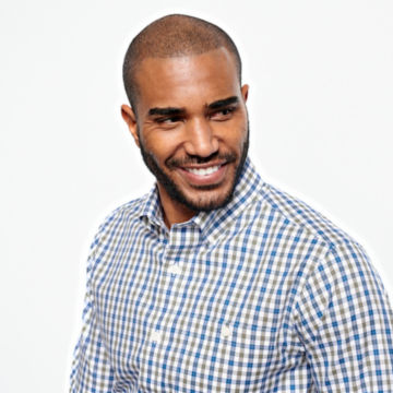 Pinpoint Wrinkle-Free Comfort Stretch Long-Sleeved Shirt - Regular -  image number 4