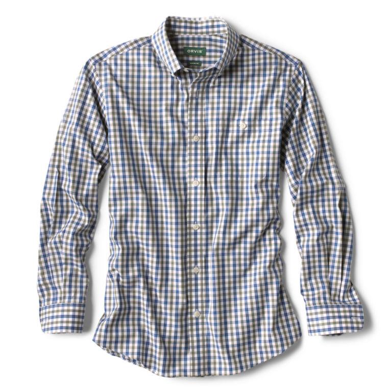 Pinpoint Wrinkle-Free Comfort Stretch Long-Sleeved Shirt - Regular -  image number 0