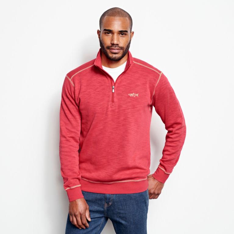Angler's Quarter-Zip Sweatshirt -  image number 1