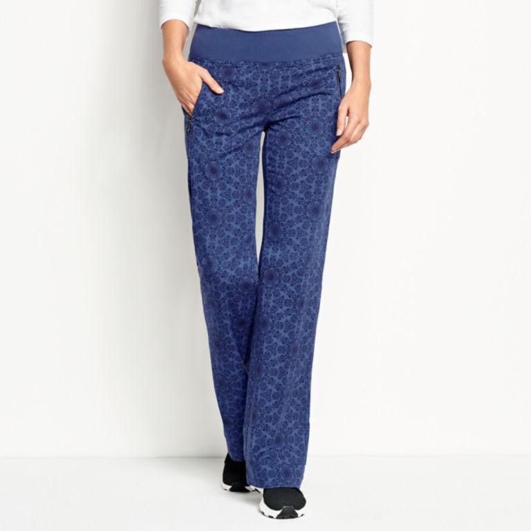 Explorer Pull-On Pants - BLUE PRINT image number 1