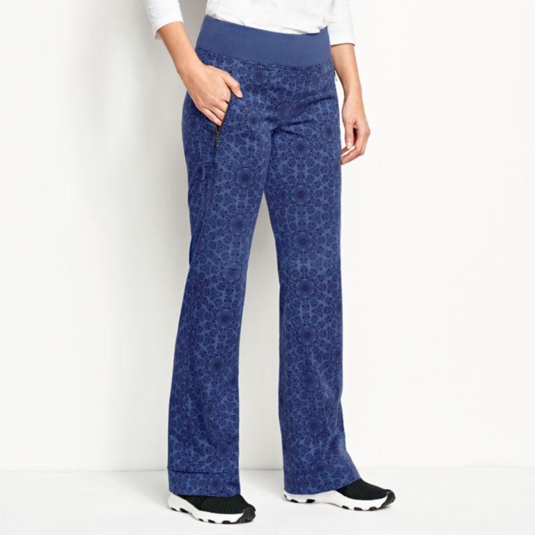 Explorer Pull-On Pants - BLUE PRINT image number 2