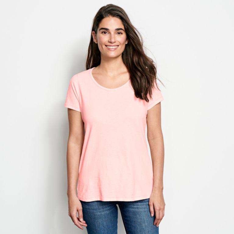 Terra Dye Organic Cotton Scoopneck Short-Sleeved Tee -  image number 0
