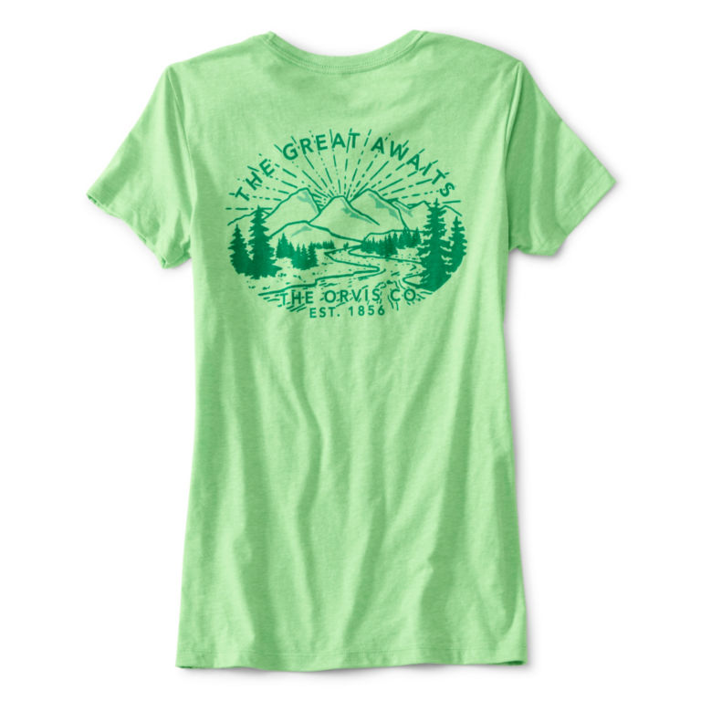 The Great Awaits Tee - APPLE image number 1