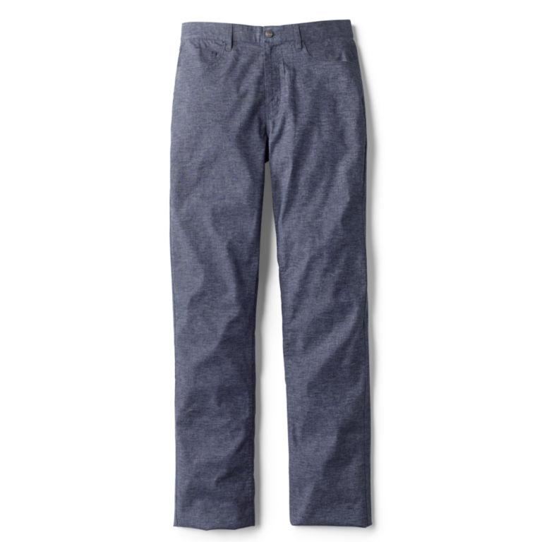 Stretch Hemp 5-Pocket Pants -  image number 1