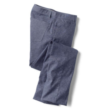 Stretch Hemp 5-Pocket Pants -