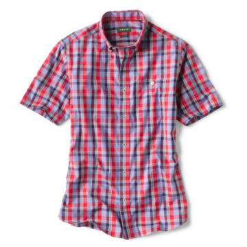 Medford Wrinkle-Free RWB Plaid Short-Sleeved Shirt -  image number 0