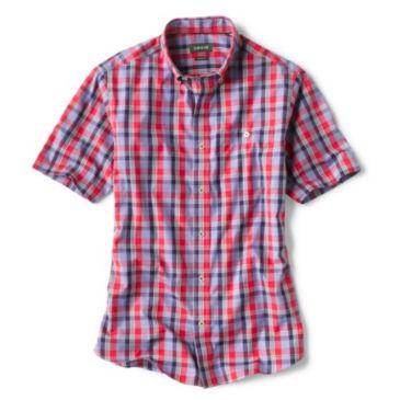 Medford Wrinkle-Free RWB Plaid Short-Sleeved Shirt -