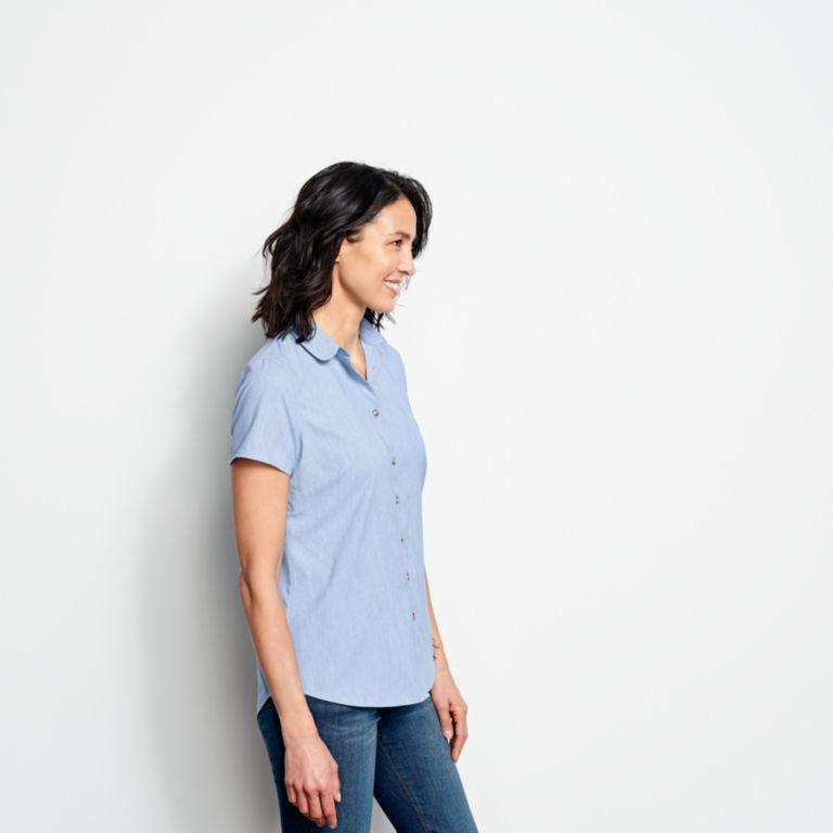 Short-Sleeved Acadia Shirt - RIVER BLUE image number 2