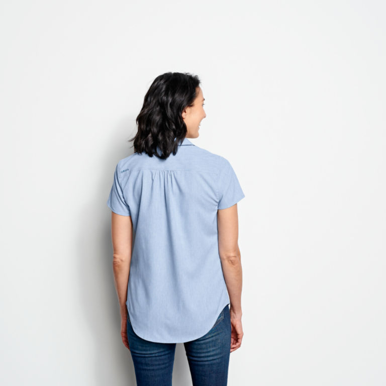 Short-Sleeved Acadia Shirt - RIVER BLUE image number 3