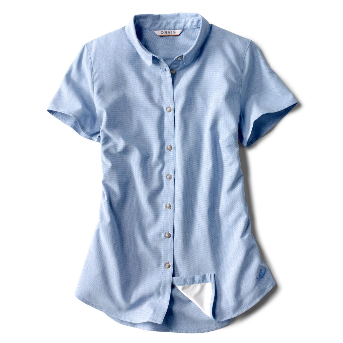 Short-Sleeved Acadia Shirt - RIVER BLUEimage number 0