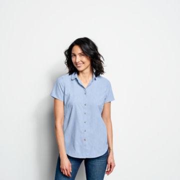 Short-Sleeved Acadia Shirt - RIVER BLUE image number 1