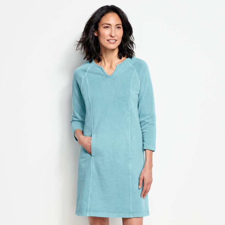 Terra Dye Sweatshirt Dress -  image number 1