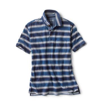 Indigo Stripe Polo -