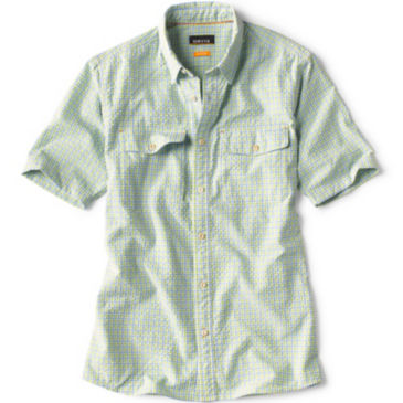 Clearwater Seersucker Short-Sleeved Shirt -