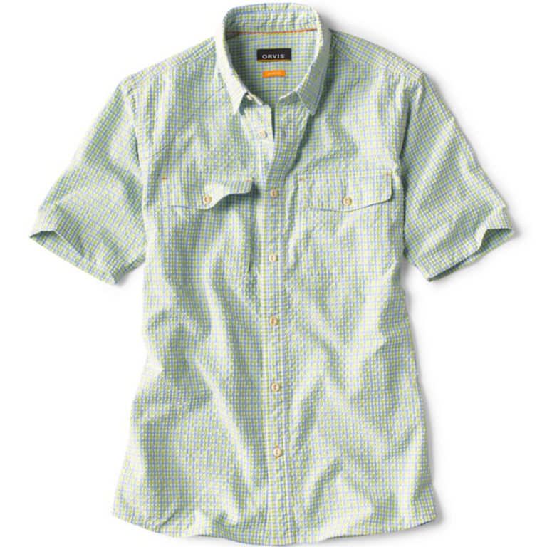 Clearwater Seersucker Short-Sleeved Shirt -  image number 0