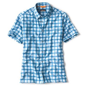 Favorite Catch Plaid Short-Sleeved Shirt -  image number 0