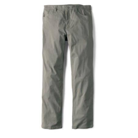 laydown of grey pants