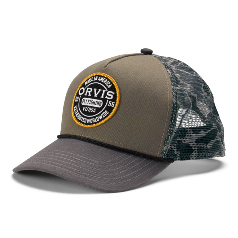 Worldwide Camo Mesh Trucker -  image number 0