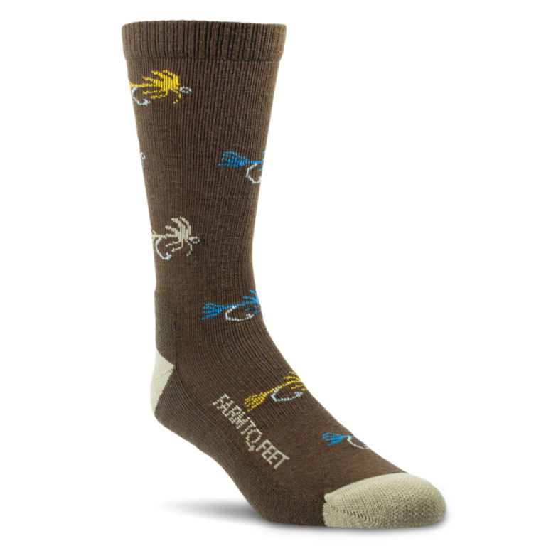 Farm To Feet® Flies Socks -  image number 0