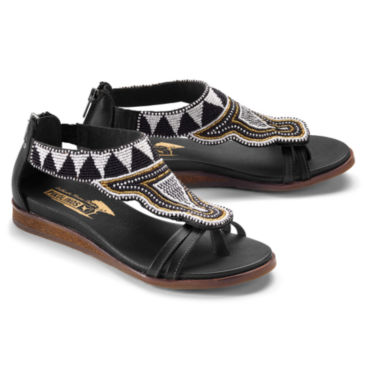 Pikolinos®  Maasai-Beaded Gladiator Sandals -