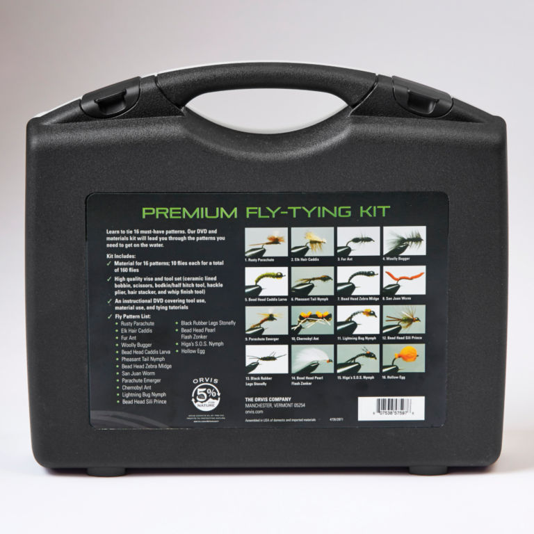 Orvis Premium Fly-Tying Kit -  image number 3