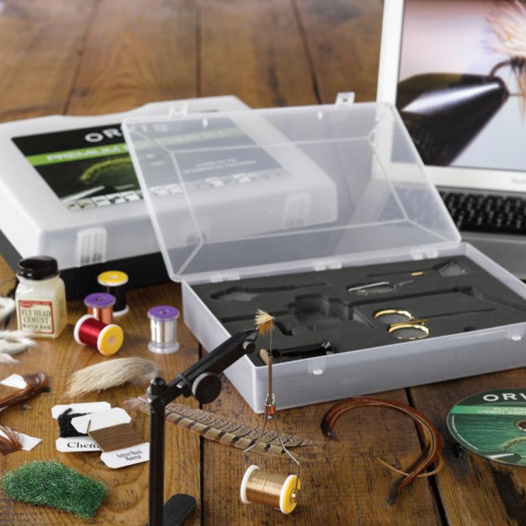 Orvis Premium Fly-Tying Kit -  image number 1