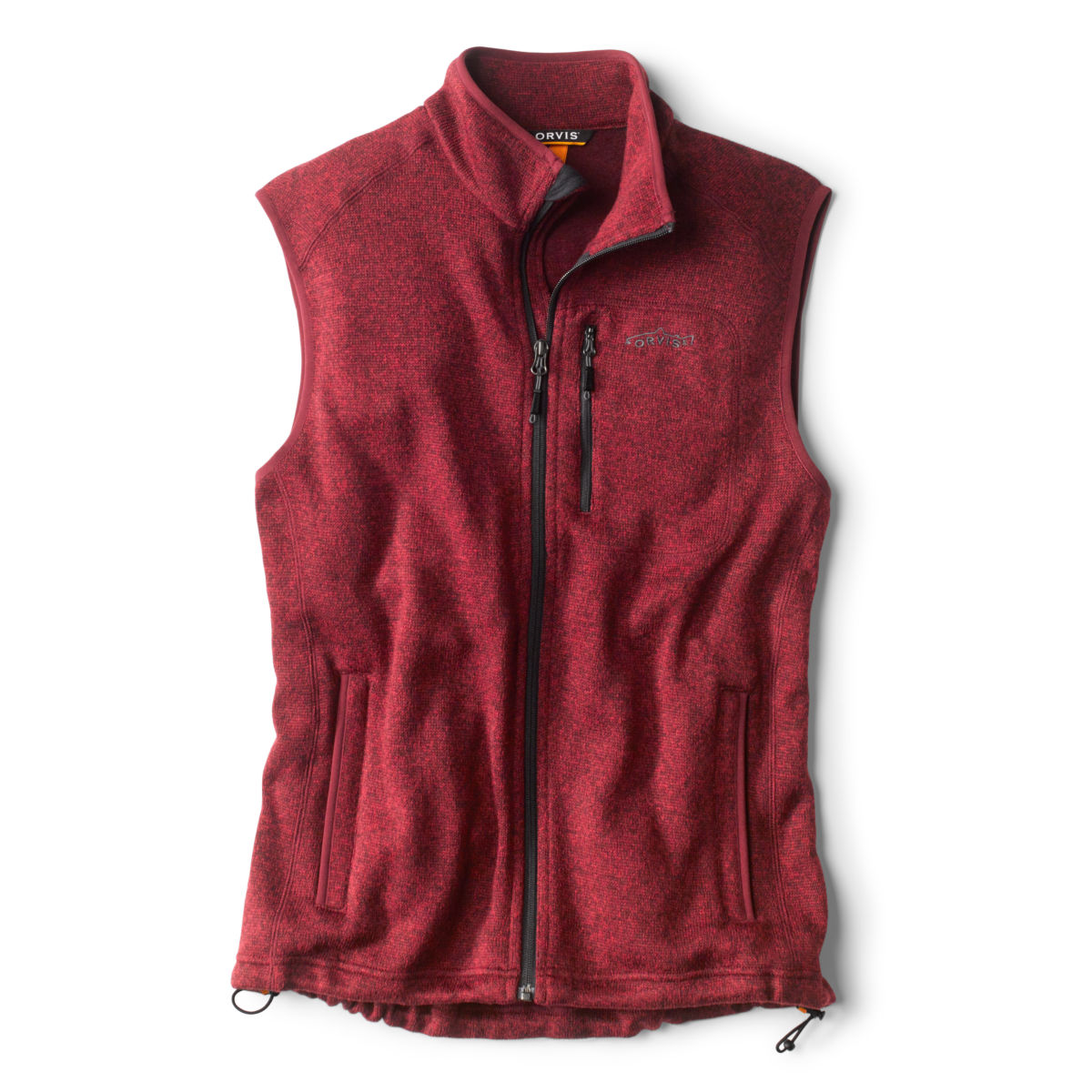 Sweater Fleece Vest - BARN REDimage number 0