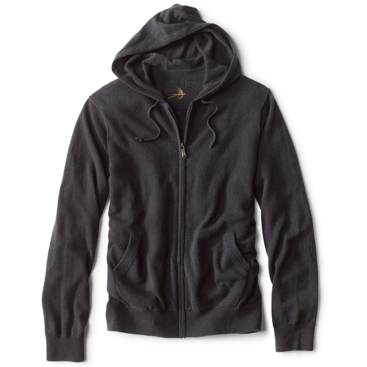 Men's Cashmere Hooded Sweater - image number 0
