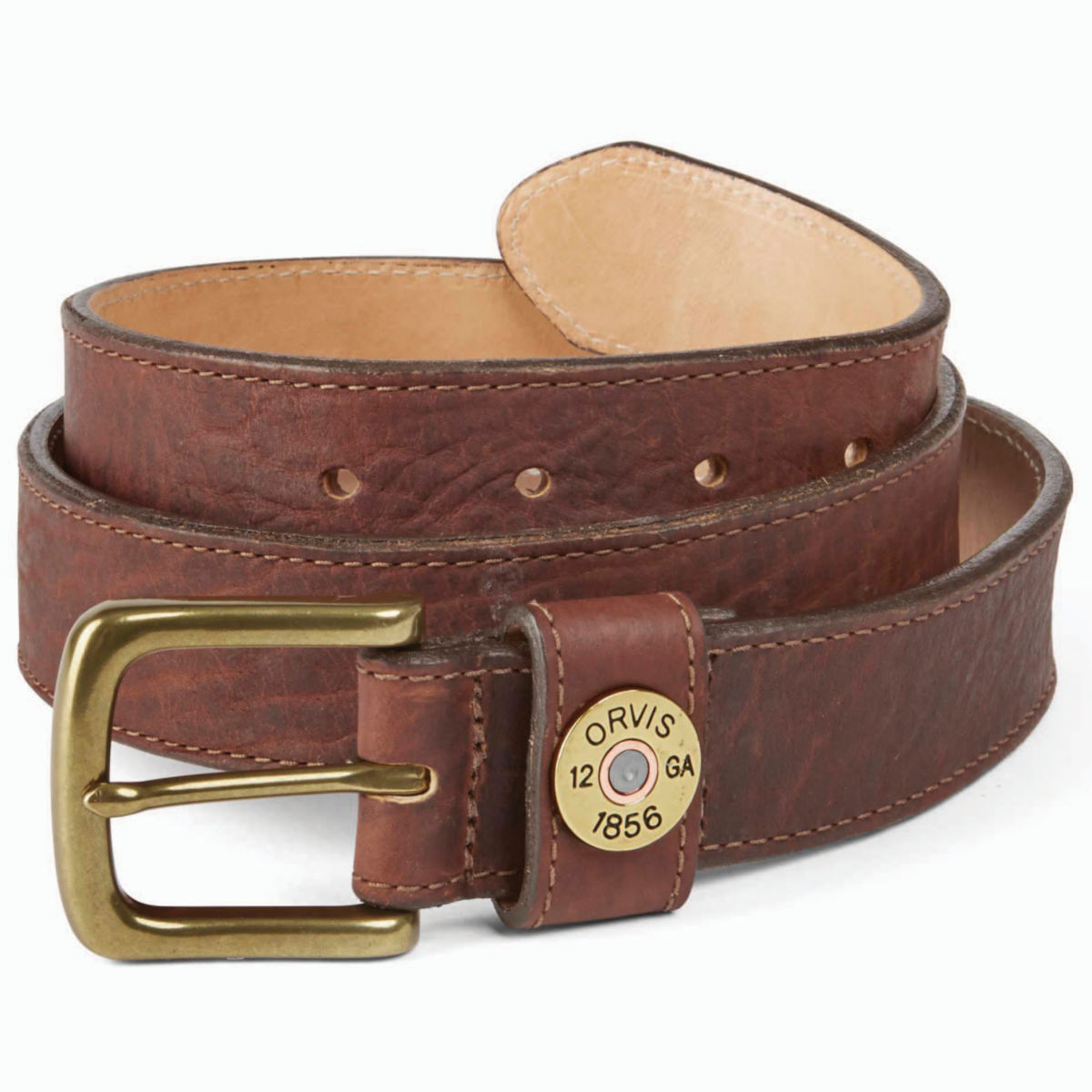 Bison Leather Shotshell Belt - image number 0