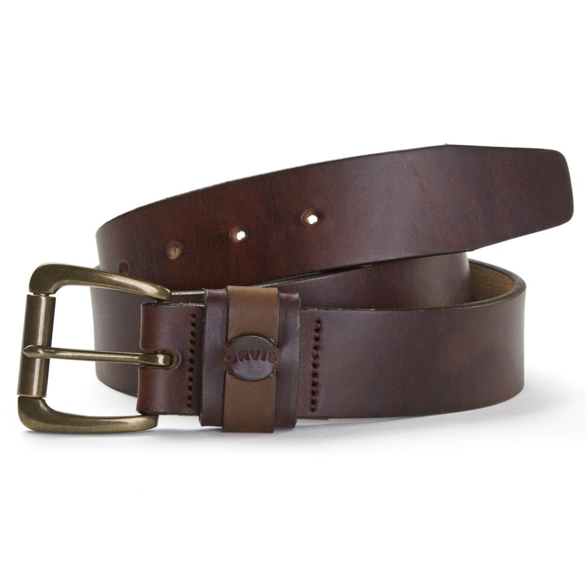 Orvis Heritage Leather Belt - BROWNimage number 0
