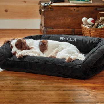 Orvis ComfortFill-Eco™ Bolster Dog Bed -
