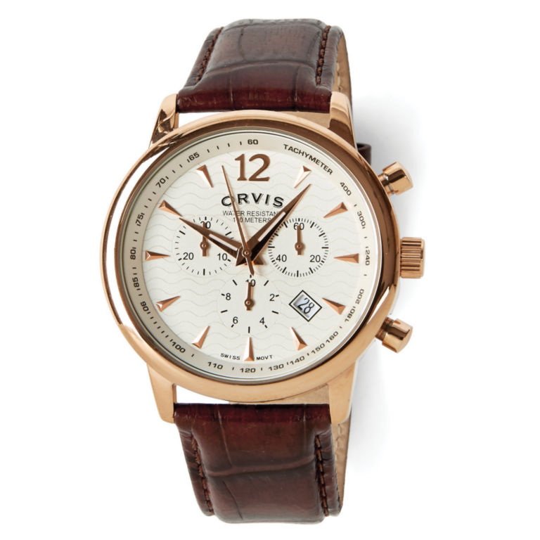 Rose Gold Chronograph - GOLD image number 0