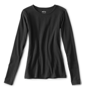 Long-Sleeved Crewneck Perfect Tee -  image number 1