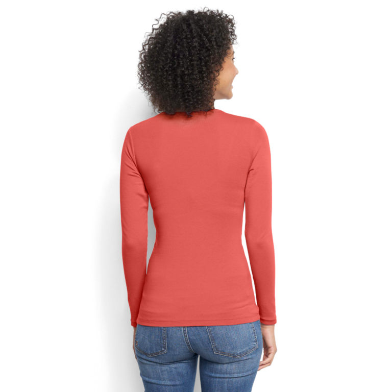 Long-Sleeved Crewneck Perfect Tee -  image number 2