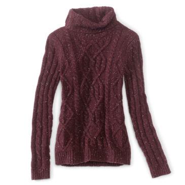 Wool/Cashmere Donegal Turtleneck -