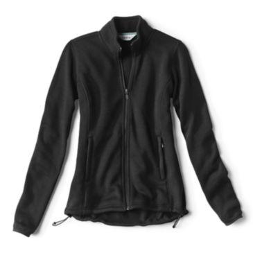 Women's Marled Sweater Fleece Zip-Front Jacket -
