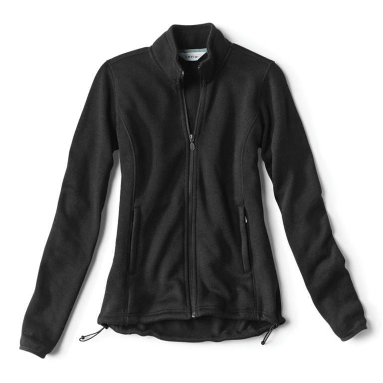 Women's Marled Sweater Fleece Zip-Front Jacket -  image number 0