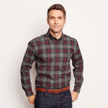 Signature Twill Long-Sleeved Shirt -  image number 1