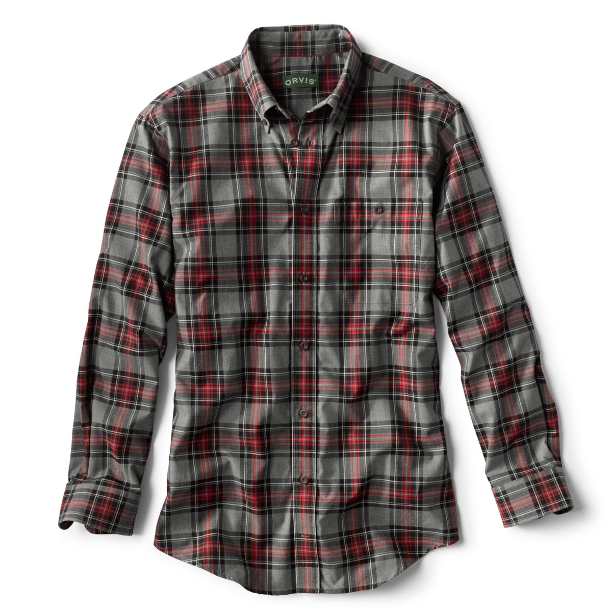 Signature Twill Long-Sleeved Shirt - image number 0