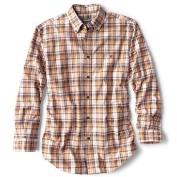 Signature Twill Long-Sleeved Shirt - NATURAL PLAID