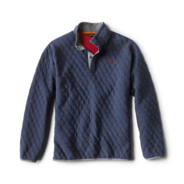 Outdoor Quilted Snap Sweatshirt -